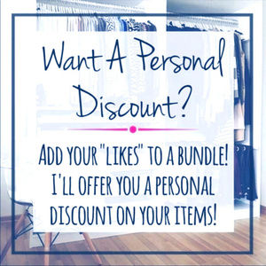 Get a Personal Discount!!!!!
